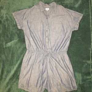 Old Navy denim romper NWOT